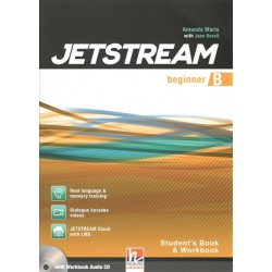 JETSTREAM Beginner Combo Part B Student's Book and Workbook