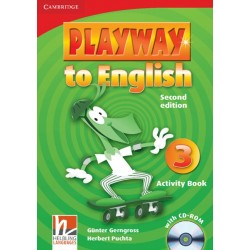 Playway to English Second Edition Level 3 Activity Book with CD-Rom