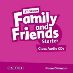 Family and Friends Starter Class Audio CD, 2nd Edition