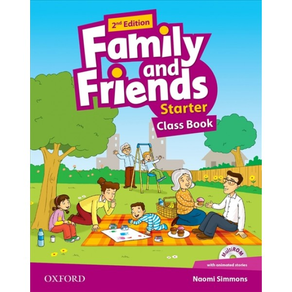 Family and Friends Starter Class Book and Multi-Rom
