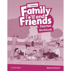 Family and Friends Starter Workbook, 2nd Edition