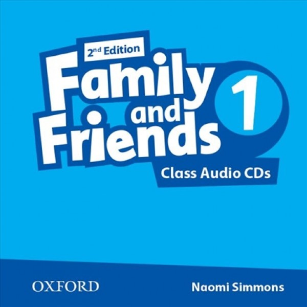 Family and Friends 1 Class Audio CDs