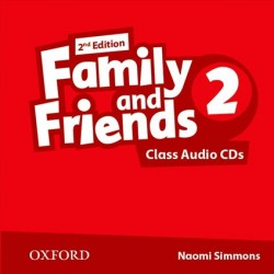 Family and Friends 2 Class Audio CDs