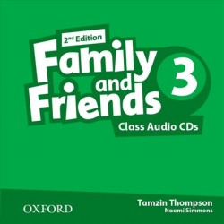 Family and Friends 3 Class Audio CDs