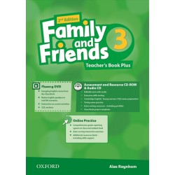 Family and Friends 3 Teacher's Book Plus
