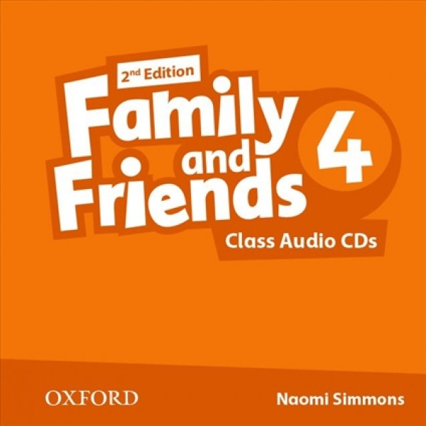 Family and Friends 4 Class Audio CD, 2nd Edition