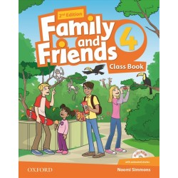 Family and Friends 4 Class Book and Multi-Rom Pack, 2nd Edition