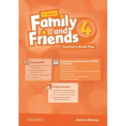 Family and Friends 4 Teacher's Book Plus Pack, 2nd Edition