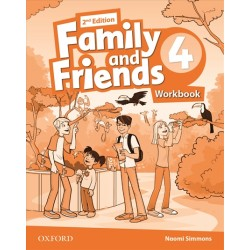 Family and Friends 4 Workbook, 2nd Edition