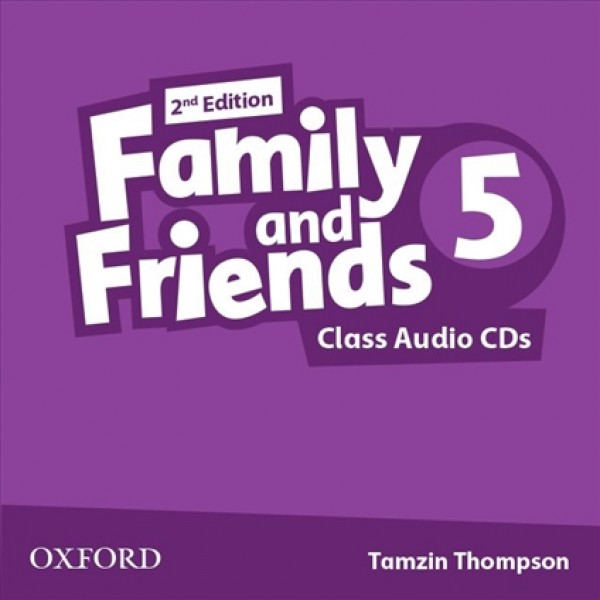 Family and Friends 5 Class Audio CDs