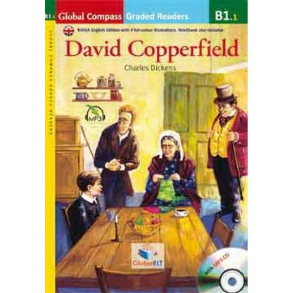 David Copperfield with MP3 Audio CD, B1.1  Level