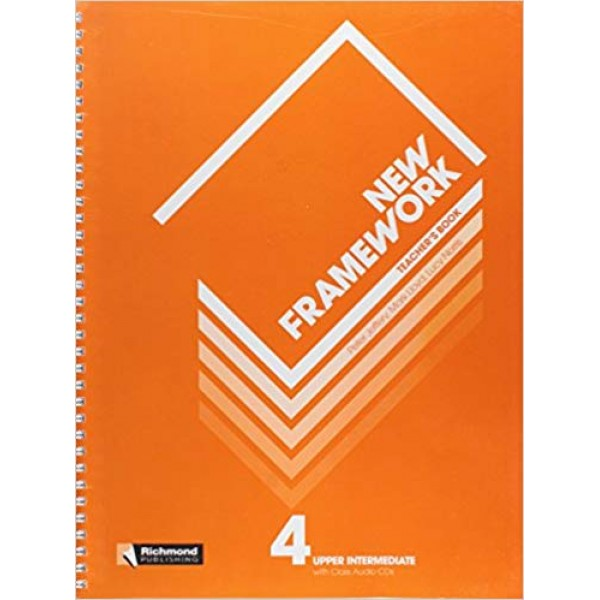 New Framework 4 Teacher's Book & Class CD Upper Intermediate B2