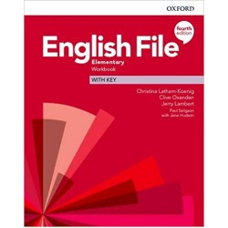 English File Elementary Workbook with Key 4th Edition