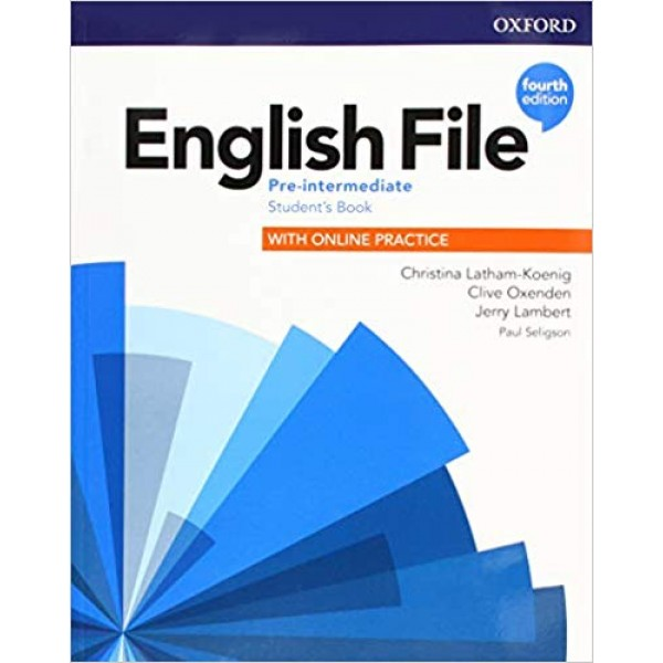 English File Pre-intermediate Students Book and Student Resource Center Pack 4th Edition