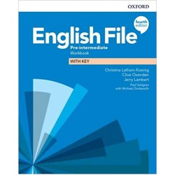 English File Pre-intermediate Workbook with Key 4th Edition