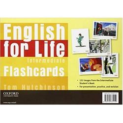 English for Life: Intermediate: Flashcards