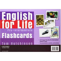 English for Life Pre-intermediate Flashcards