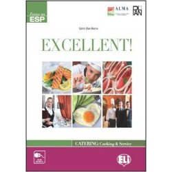 Excellent! Catering: Cooking & Service (CEFR B1 – B2) Teacher's Book + Tests + Audio CD