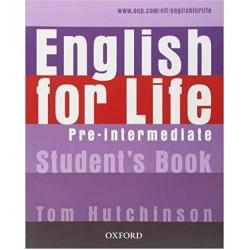 English for Life Pre-intermediate Student's Book