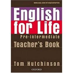 English for Life Pre-intermediate Teacher's Book Pack