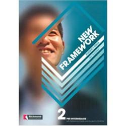 New Framework 2 Student's Book & Reference Guide & CD-ROM Pre-intermediate