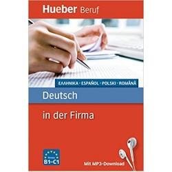 Berufssprachführer: Deutsch in der Firma: Griechisch, Spanisch, Polnisch, Rumänisch / Buch mit MP3-Download