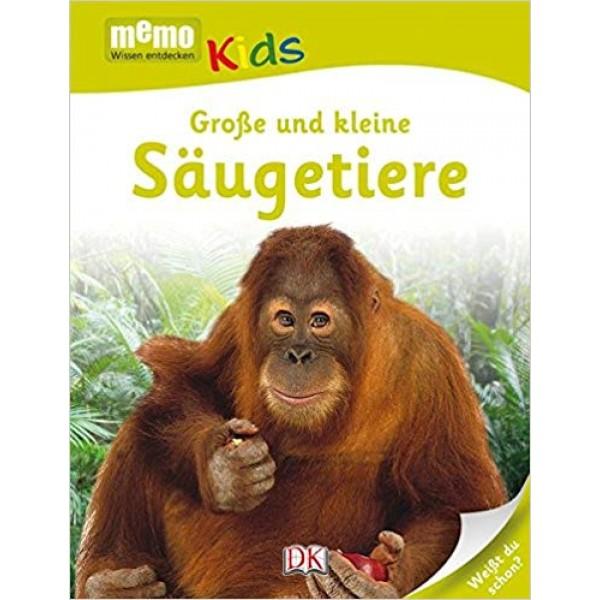 Memo Kids. Große und kleine Säugetiere