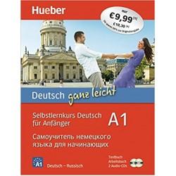 Deutsch ganz leicht A1 : Arbeitsbuch und Textbuch, m. 2 Audio-CDs