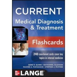Current Medical Diagnosis And Treatment Flashcards, McPhee