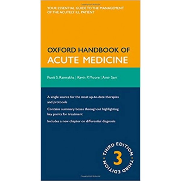 Oxford Handbook of Acute Medicine 3rd Edition