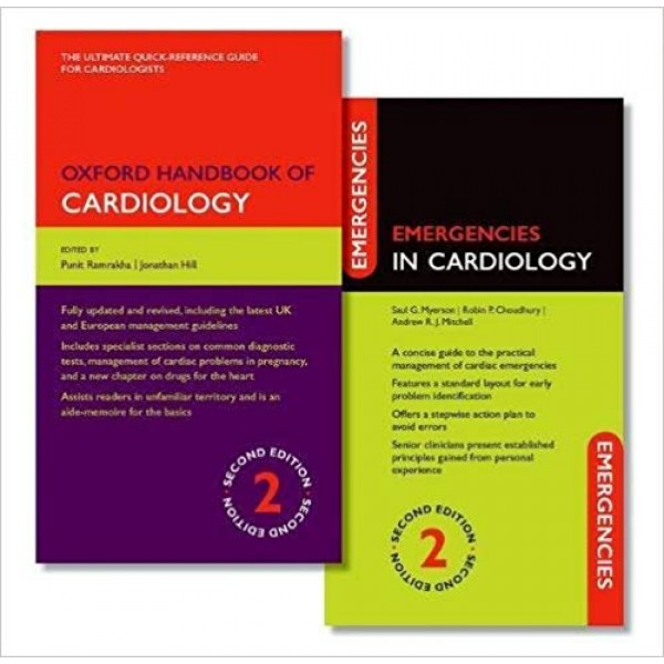 Oxford Handbook of Cardiology and Emergencies in Cardiology Pack 2nd Edition