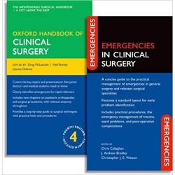 Oxford Handbook of Clinical Surgery and Emergencies in Clinical Surgery Pack 4th Edition
