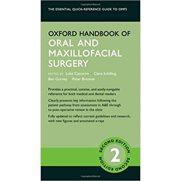 Oxford Handbook of Oral and Maxillofacial Surgery 2nd Edition