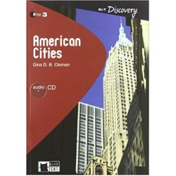 American Cities Level B1.2 + Audio CD (Reading & Training Discovery), Clemen