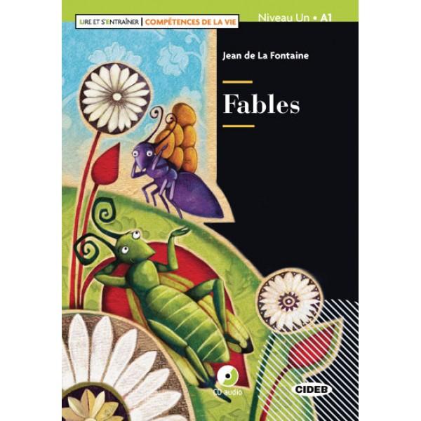 Fables + CD + App + DeA LINK (Lire et s'entrainer - Competences de la Vie Niveau A1), La Fontaine