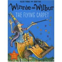 Winnie and Wilbur: The Flying Carpet (Paperback & CD)