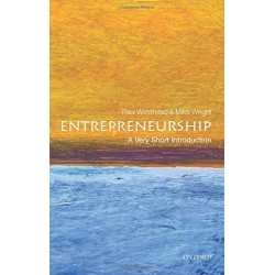 Entrepreneurship: A Very Short Introduction, Paul Westhead
