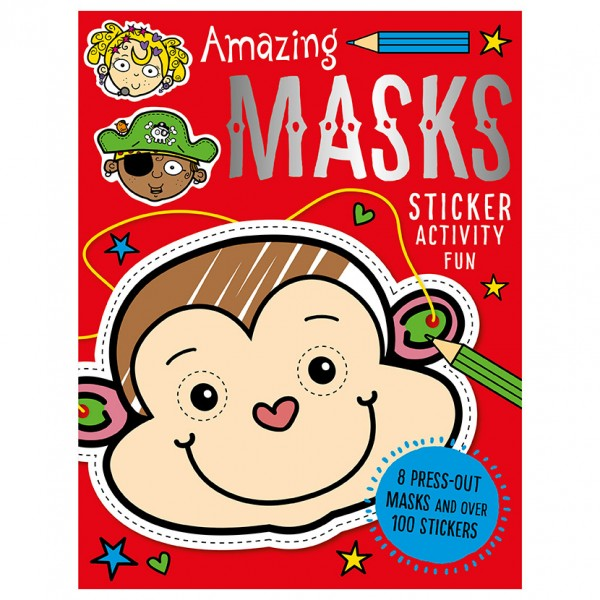 Amazing Masks Sticker Activity Fun