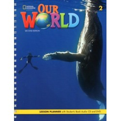 Our World 2 (2nd edition) Lesson Planner + Student's Book Audio CD