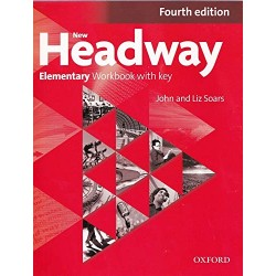 New Headway 4th Edition Elementary A1-A2 Workbook (With Key)