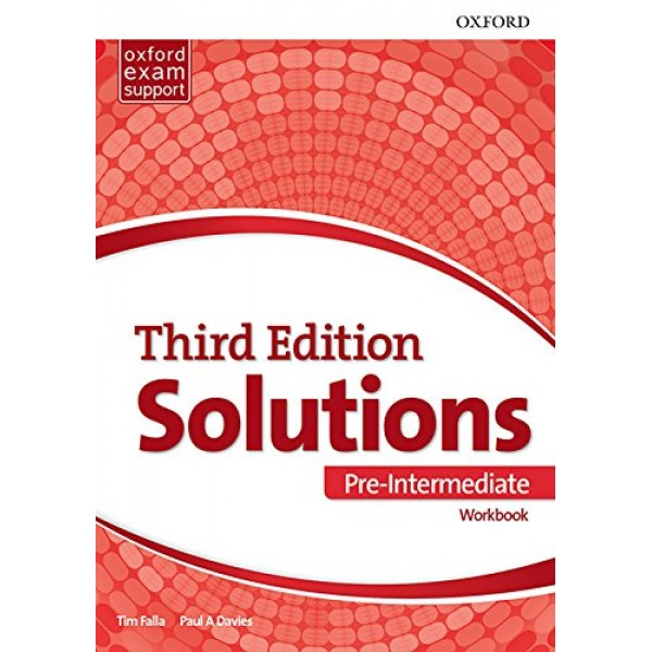 Solutions (3rd Edition) Pre-Intermediate Workbook