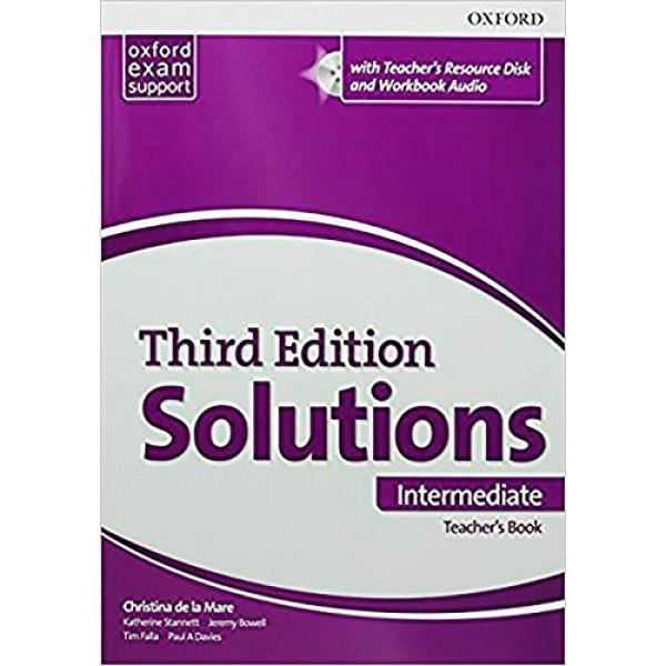 Solutions (3rd Edition) Intermediate Teacher's Book