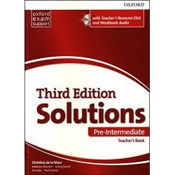 Solutions (3rd Edition) Pre-Intermediate Teacher's Book