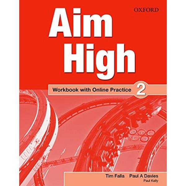 Aim High Level 2 Workbook with Online Practice