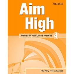 Aim High Level 4 Workbook with Online Practice