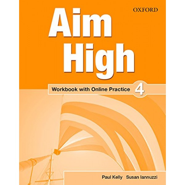 Aim High Level 4 Workbook with Online Practice