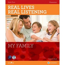 Real Lives, Real Listening - My Family (Elementary) + Audio CD