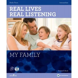 Real Lives, Real Listening - My Family (Intermediate) + Audio CD