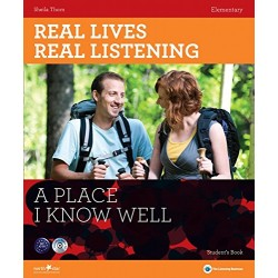 Real Lives, Real Listening - A Place I Know Well (Elementary) + Audio CD