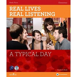 Real Lives, Real Listening - A Typical Day (Elementary) + Audio CD